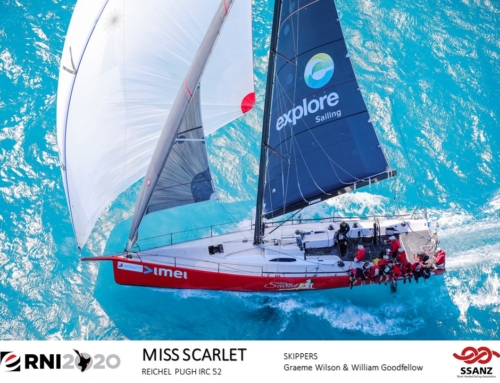 Best of luck to RAYC members racing in the Evolution Sails Round North Island