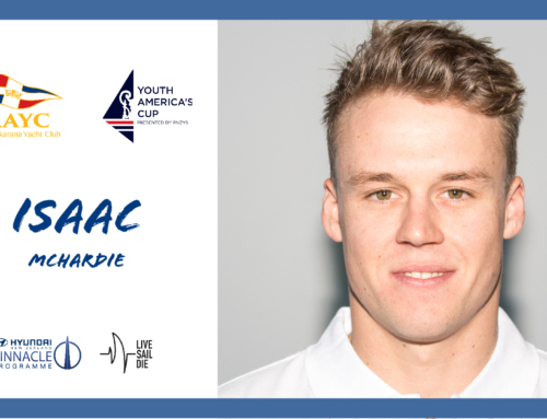 RAYC Youth America's Cup Squad: Isaac McHardie